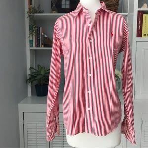 Ralph Lauren Sport  | Slim Fit Striped Shirt  | 12